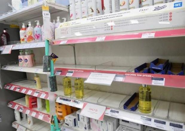 Les supermarchés britanniques imposent des restrictions