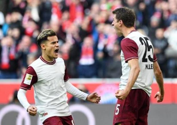 Bundesliga - Bayern blijft ongeslagen na Nieuwjaar na logische zege tegen Augsburg