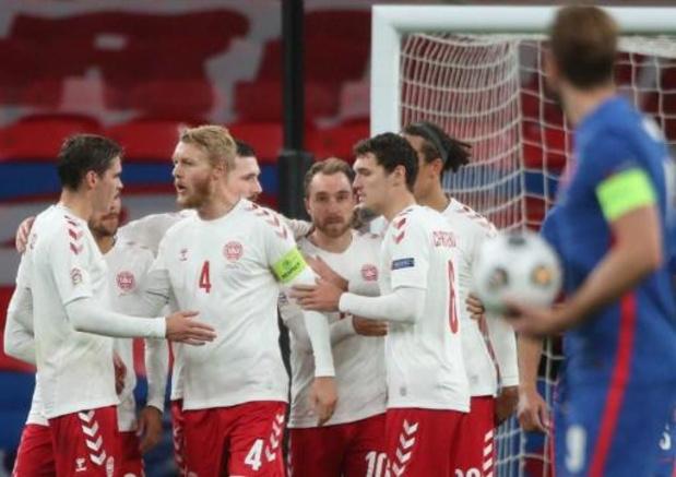 Nations League - Denemarken wint op Wembley van tienkoppig Engeland