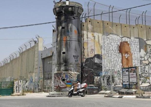 Des Palestiniens protestent contre l'annexion israélienne
