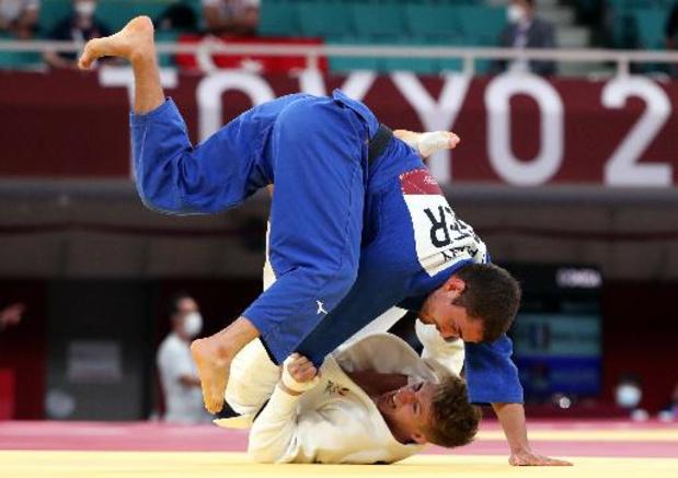 OS 2020 - Judoka Jorre Verstraeten (-60 kg) verliest in achtste finales van Japanner Takato