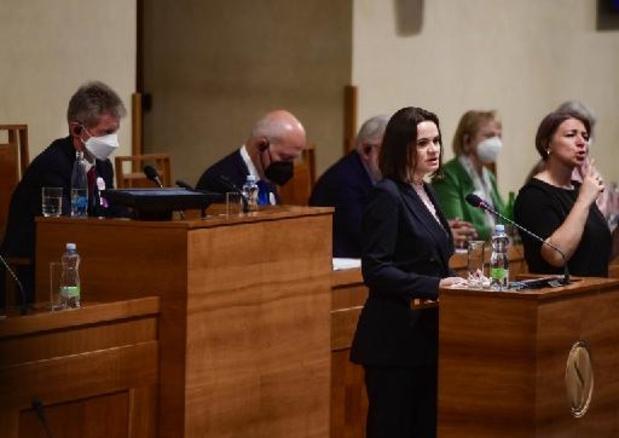 Wit-Russische oppositieleidster roept op tot internationaal tribunaal tegen Loekasjenko