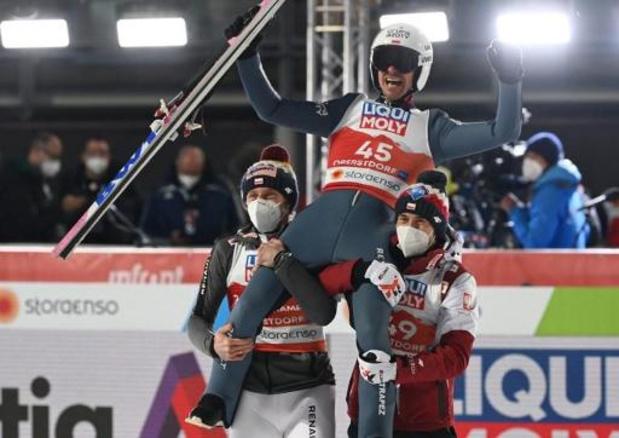 Championnats du monde de saut à ski - Le Polonais Piotr Zyla gagne sur le petit tremplin