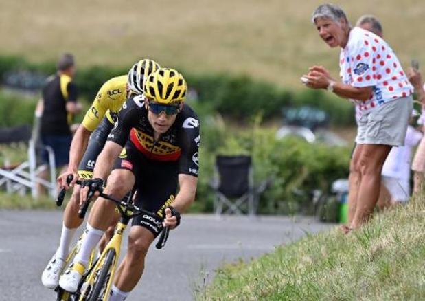 """Van Aert volgens Fransen op weg naar eindwinst: """"Nog snel tien kilo verliezen"""""""
