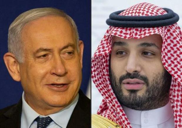 Netanyahu had gisteren geheime ontmoeting met Saoedische kroonprins en Pompeo