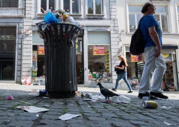 La Wallonie double le montant des amendes pour les déchets sauvages