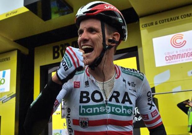 """Patrick Konrad """"fier"""" après sa 1re victoire WorldTour sur """"la plus belle course du monde"""""""
