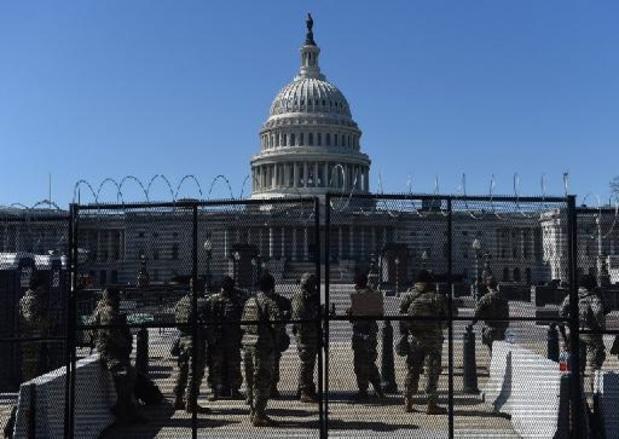 Insurrection à Washington - La Garde nationale quitte le Capitole, près de cinq mois après l'attaque du 6 janvier