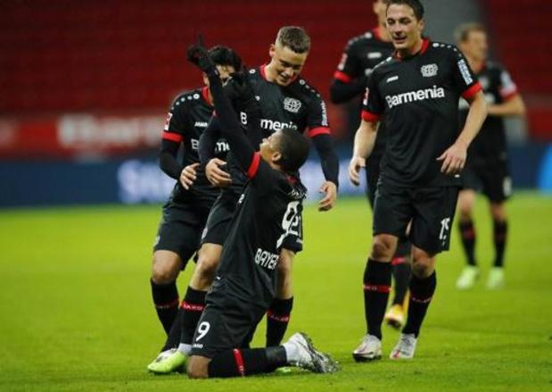 Bundesliga - Leverkusen neemt leiding over in Bundesliga