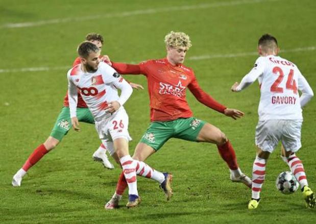Jupiler Pro League - Le Standard arrache un point à Ostende dans les arrêts de jeu