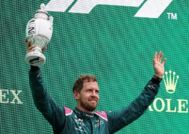 F1 - GP de Hongrie - La 2e place de Sebastien Vettel menacée pour une question de carburant
