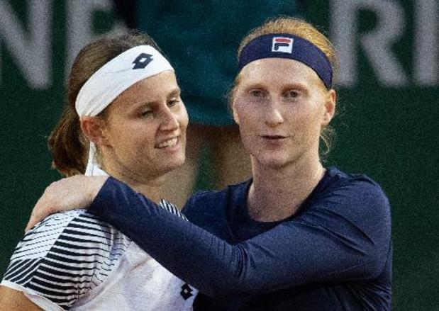 Minnen et Van Uytvanck battues en finale en double