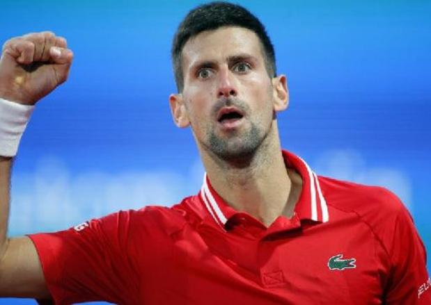 Titelhouder Novak Djokovic neemt niet deel aan ATP-toernooi van Madrid