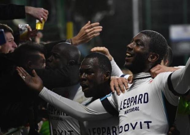 Proximus League - Virton s'impose face à Roulers (3-2) et se retrouve 2e