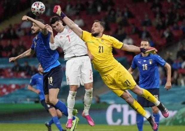 Euro 2020 - L'Italie et l'Espagne se joueront le premier ticket pour la finale aux tirs aux buts