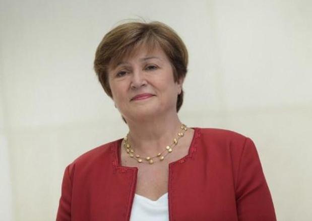 Kristalina Georgieva nommée directrice générale du Fonds monétaire international