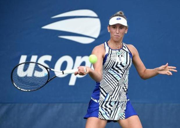 Elise Mertens en simple et en double samedi à l'US Open