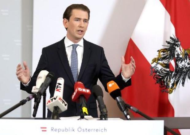 Kurz verdacht van corruptie - Kurz treedt af als Oostenrijks kanselier