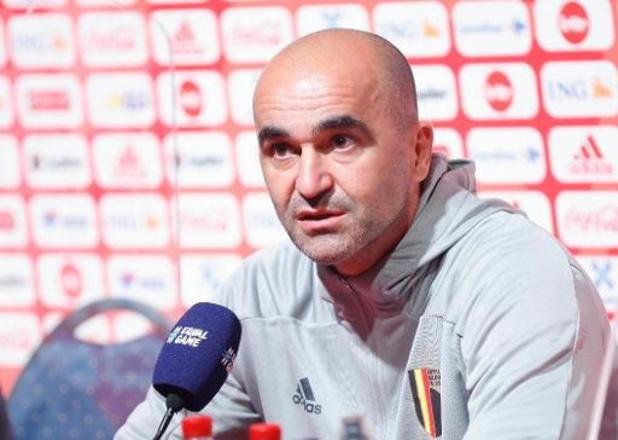 """Diables Rouges - """"La victoire du groupe se jouera en novembre"""", pense Martinez avant de défier l'Angleterre"""