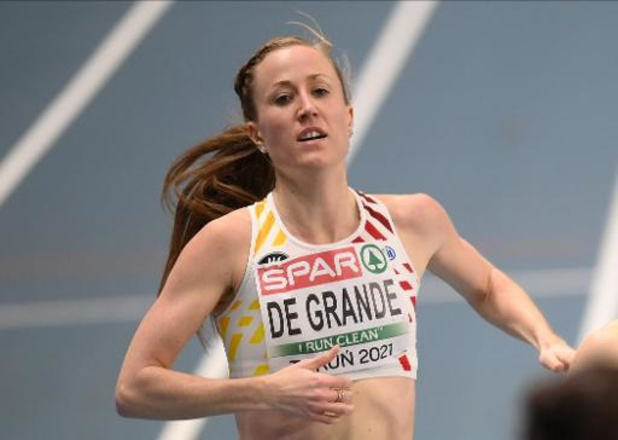 """Elise Vanderelst en finale du 1500m: """"Heureusement, j'étais dans une série rapide"""""""