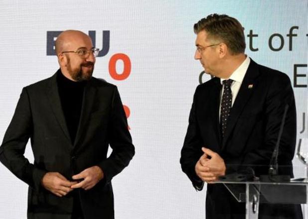 Kroatië wil westelijke Balkanlanden naar EU gidsen