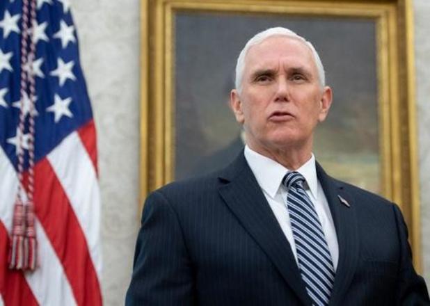"""Coronavirus - """"Amerikaanse vicepresident Mike Pence in thuisisolatie"""""""