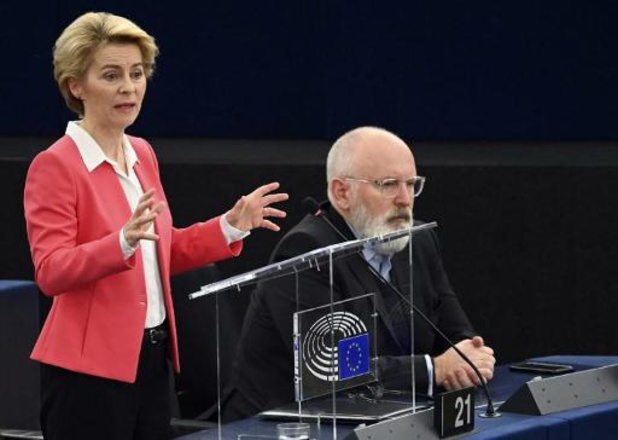 Europees Parlement verleent steun aan Commissie-von der Leyen