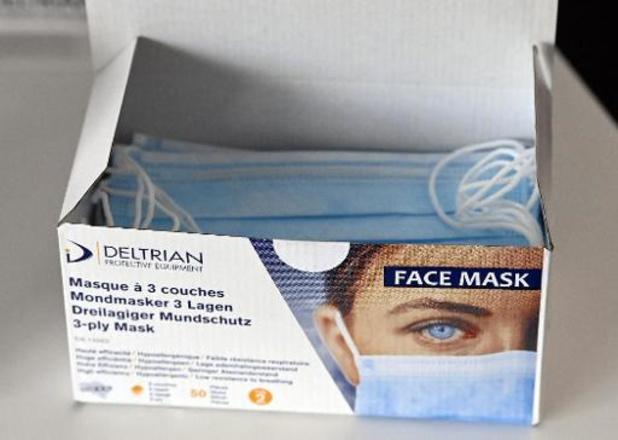 Voorraad mondmaskers verdubbelt in een klap
