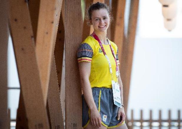 """OS 2020 - Nina Sterckx hoopt op vroeg verjaardagsgeschenk: """"Olympisch diploma zou geweldig zijn"""""""