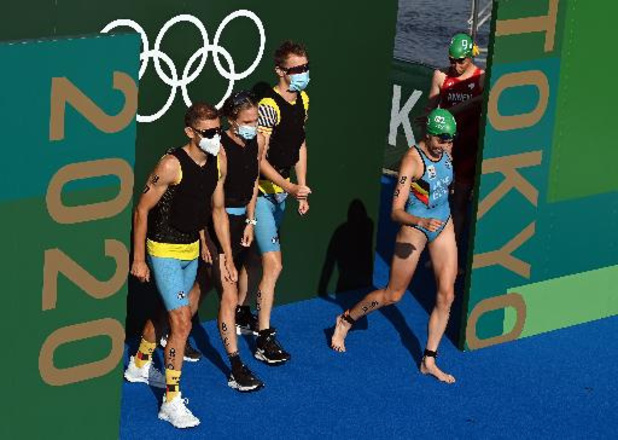 JO 2020 - Les Belgian Hammers 5e du relais mixte de triathlon, l'or pour la Grande-Bretagne
