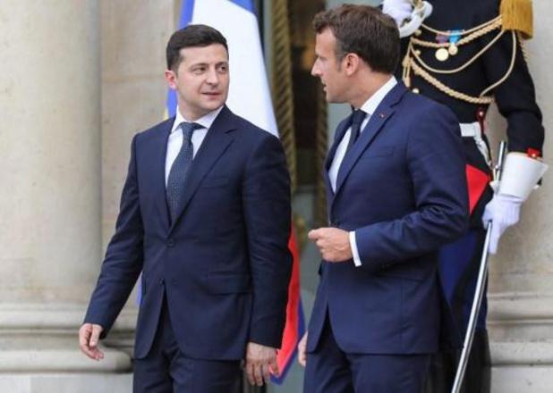 Sommet sur l'Ukraine le 9 décembre à Paris avec Macron, Poutine, Merkel et Zelensky