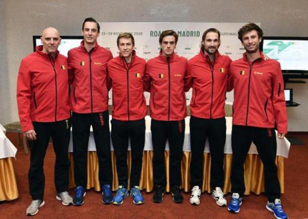 Davis Cup - Belgische mannen staan zonder Goffin voor zware klus in Hongarije