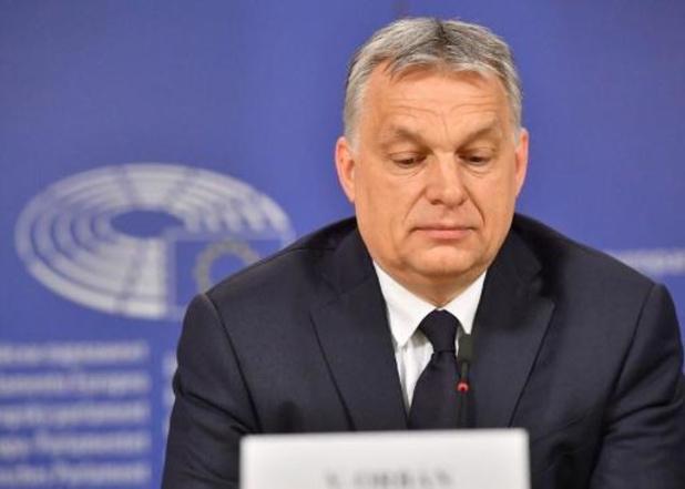 EVP-fractie in Europees Parlement zet deur open voor de schorsing partij Orban