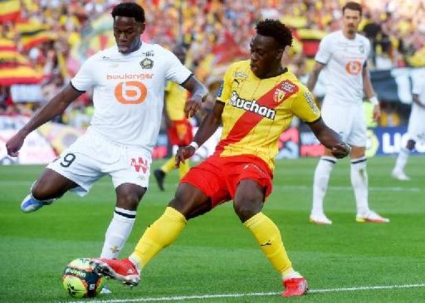 Ligue 1 - Lens zet oververhitte derby tegen Rijsel na rust naar zijn hand