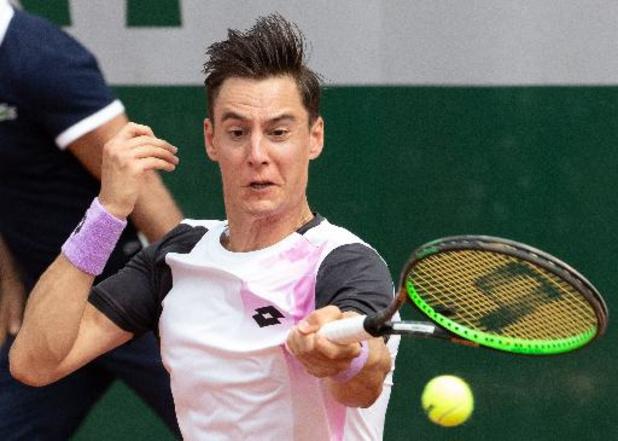 """Roland-Garros - Joran Vliegen, après la défaite contre Andujar et Martinez : """"Une occasion manquée"""""""