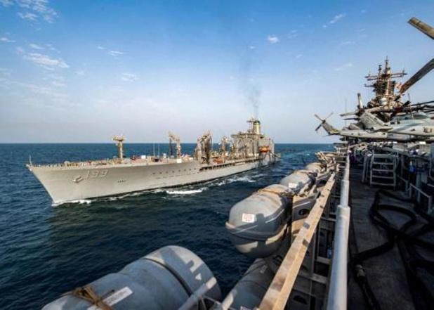 China legt Amerikaanse marine sancties op