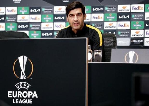 Serie A: AS Roma gaat op zoek naar vervanger voor coach Fonseca
