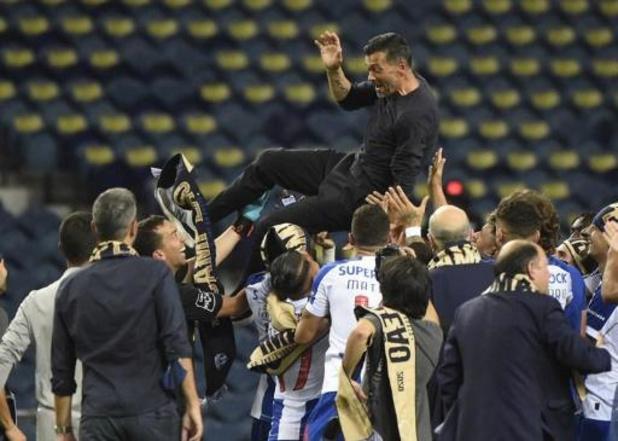 Primeira Liga - Porto van trainer Sergio Conceiçao heeft 29e landstitel beet