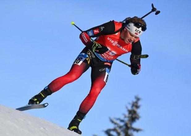 Le Norvégien Johannes Dale gagne le sprint à Hochfilzen