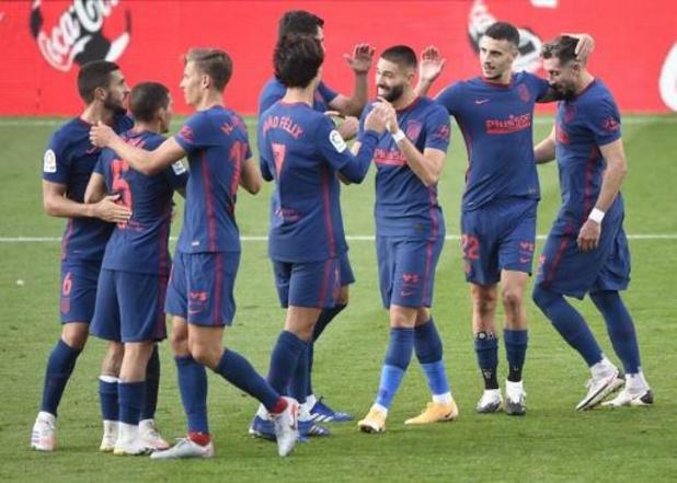 Les Belges à l'étranger - Buteur, Carrasco participe à une victoire étriquée de l'Atlético au Celta Vigo