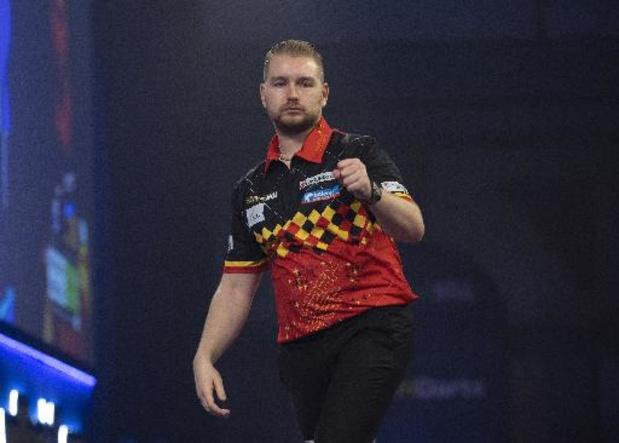 Premier League darts - Dimitri Van den Bergh start met gelijkspel tegen Michael van Gerwen