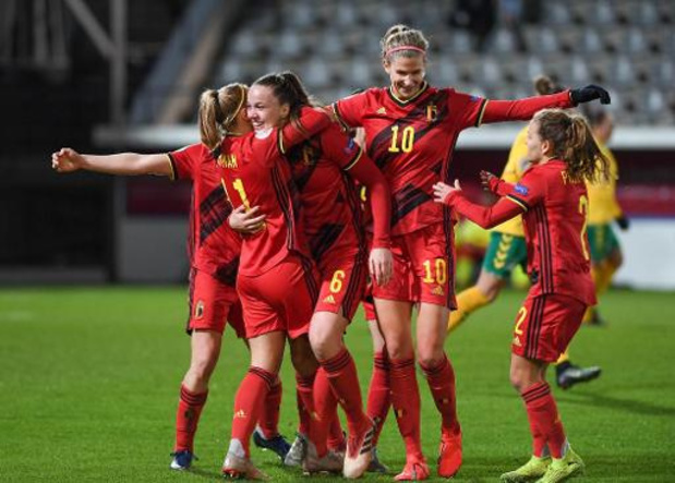 Kwal. EK voetbal (v) - Red Flames spelen op 27 oktober in Litouwen en ontvangen Zwitserland op 1 december