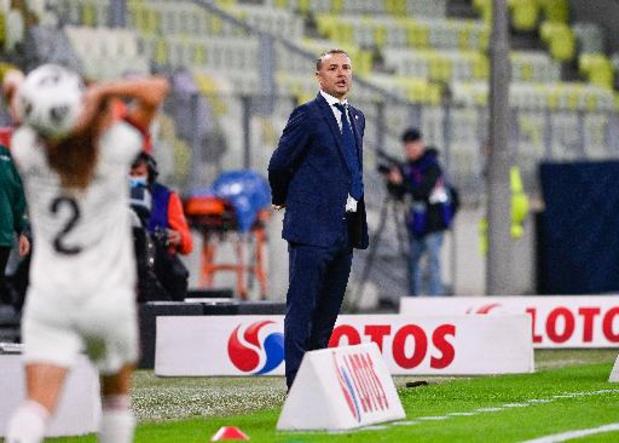 """Kwal. WK 2023 (v) - Ives Serneels na 1-1 in Polen: """"Vertrouwen verdween"""""""