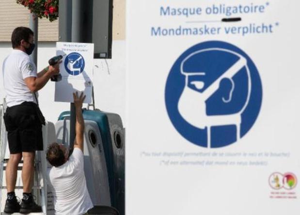 CNS et port du masque: la Région bruxelloise assouplira la règle en conséquence