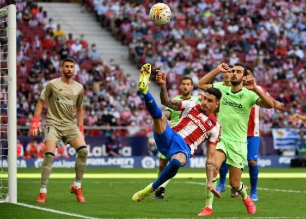 Les Belges à l'étranger - Carrasco et l'Atletico de Madrid perdent des plumes à domicile contre Bilbao