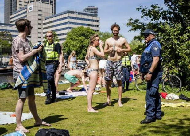 Coronavirus - Op veel plaatsen te druk in Nederland op Hemelvaartsdag