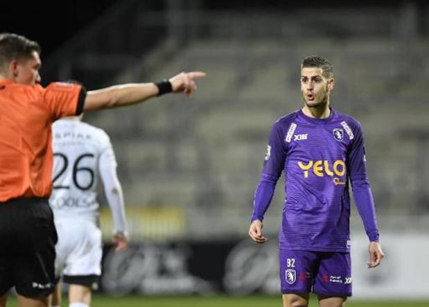 Jupiler Pro League - Loris Brogno (Beerschot) en appel de sa suspension de trois matches