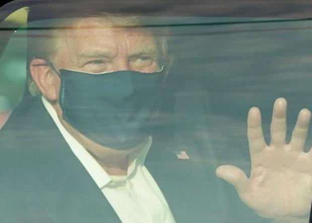 Donald Trump annonce qu'il va quitter l'hôpital