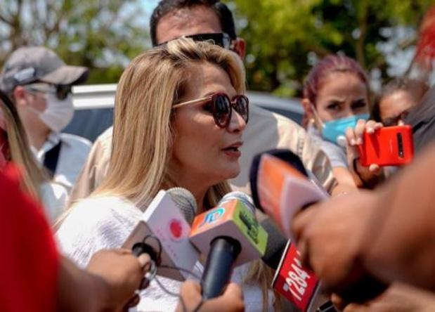 Arrestatiebevel tegen Boliviaanse ex-overgangspresident Ánez