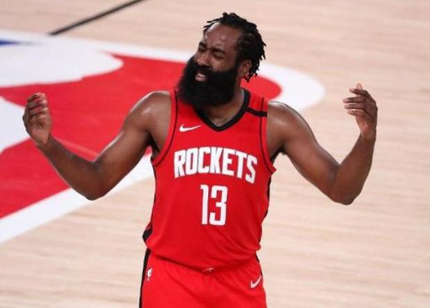 NBA: Une amende de 50.000 dollars pour Harden, qui a enfreint les règles anti-Covid